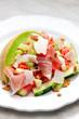 salad with galia melon