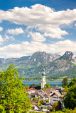 landscape near St. Gilgen, Austria