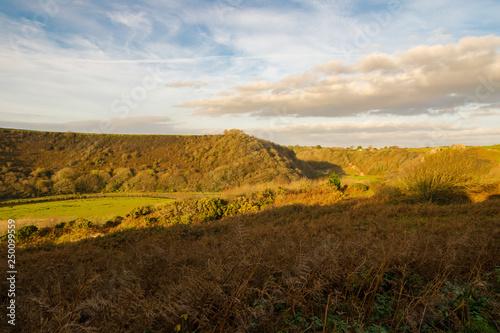 Panorama della campagna inglese © Sophie Botta