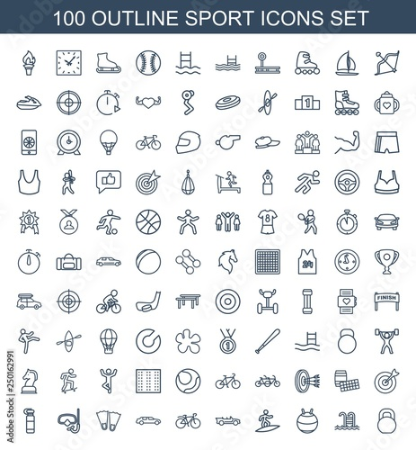 100 sport icons © HN Works