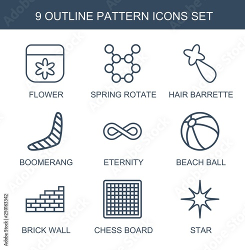 pattern icons - 250163342