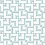 Seamless background for your designs. Modern vector ornament. Geometric abstract light blue and white pattern - 250172508