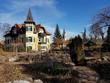 canvas print picture - Blick auf ein historisches Herrenhaus