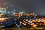 Multicolored Nepalese boats - 250202951