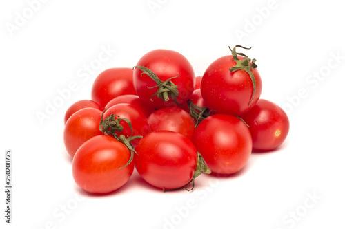 Ripe Fresh Cherry Tomatoes