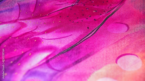 Beautiful silk fabric color for sewing clothing - 250218764