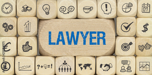 obraz lub plakat Lawyer