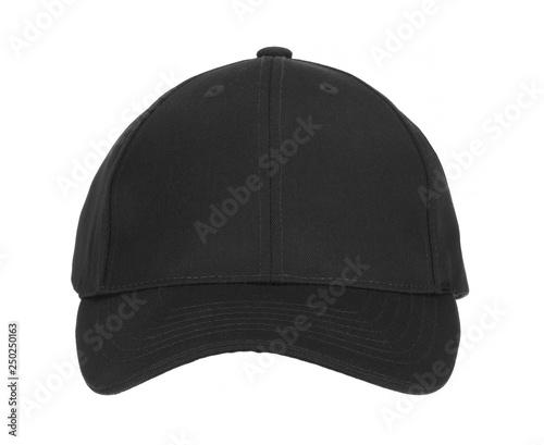 Front View of Black Cap