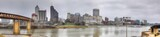 Panorama of the Mississippi River and Memphis skyline