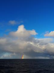 Regenbogen über dem Atlantik © Agentur Kiesgen
