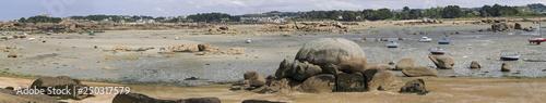 Panoramica Costa de Granito Rosa - 250317579