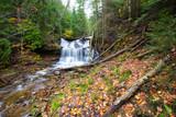 Wagner Falls in Autumn, Michigan