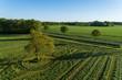 Quadro Landschaft in Deutschland aus der Luft