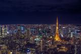 Tokyo cityscape at Japan