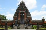 The gate of Pura Taman Ayun Temple in Bali