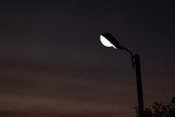 street light in the night time