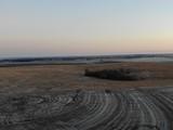 rural sunset skyline