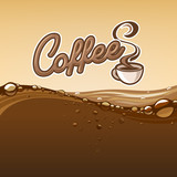 coffee banner  illustration