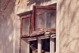 abandoned destroyed house