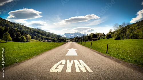 Sign 401 - GYM © Thomas Reimer