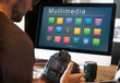 Multimedia apps on a computer