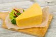 Quadro Piece. of Yellow Cheese