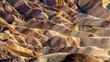 Leinwanddruck Bild - Panorama Death valley Zabriskie point