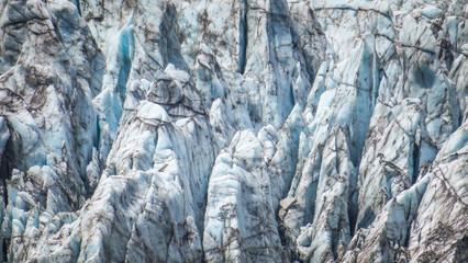 Exploring Fox Glacier on the West Coast Region of New-Zealand