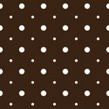 Polka dot fabric. Seamless background pattern.