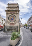ARLES, FRANCE - JULY 2013: City medieval entrance on a beautiful sunny day. The city is a famous tourist attraction