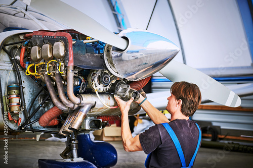 Replacing the defective parts of the aircraft service worker  | Buy