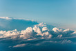 white clouds seen from flying aircraft - 250694319