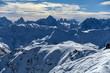 Quadro Blick auf Drei Zinnen, Dolomiten