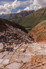 The salt mines of maras in the sacred valley peru © Ben