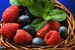 Frutti di bosco ft7105_9142 Waldbeeren Fruta del bosque Fruit rouge Berry Soft fruit 莓果 Ягода