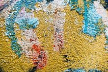 "Постер, картина, фотообои ""Detail graffiti on wall texture and background"""