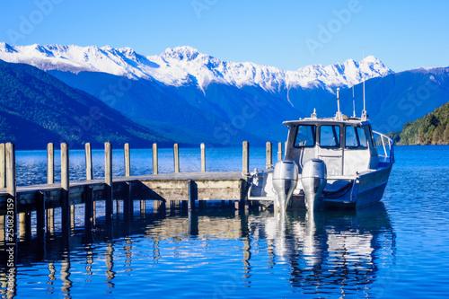 Acrylglas Pier Nelson Lakes National Park