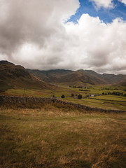 Lake District View over Fields and Hills © Tom