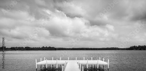 Acrylglas Pier Dock at Lake Pee Wee