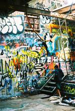 "Постер, картина, фотообои ""Graffiti Kid"""
