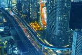 【東京の夜景】世界貿易センタービル展望台から見える大門・浜松町