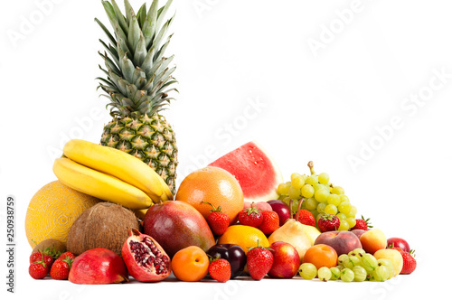 tropical fruits - 250938759