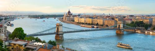 obraz PCV Evening over Budapest
