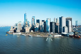Fototapeta Nowy York - Skyline Of Lower Manhattan At New York City © Andrey Popov