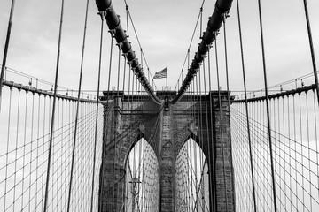 part of the Brooklyn bridge