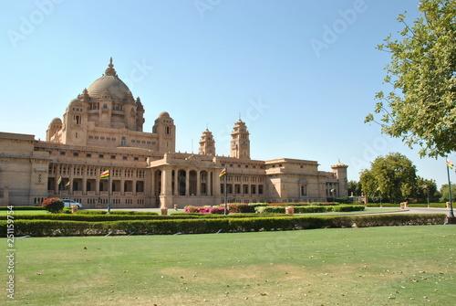 mata magnetyczna Umaid Bhawan Palace in Johdpur in India