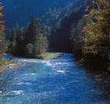 river salz, styria, austria