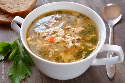 zupa flaki drobiowe - 251177395