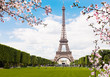 Leinwanddruck Bild - Spring in Paris.