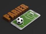 Fototapeta Paryż - Parier sur les matchs de foot © Fox